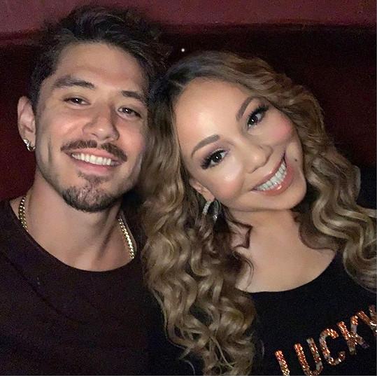 Mariah a její přítel Bryan Tanaka