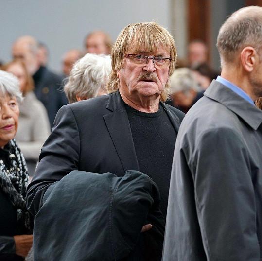 Karel Vágner na posledním rozloučení také nechyběl.
