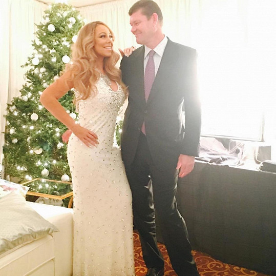 Mariah Carey a James Packer