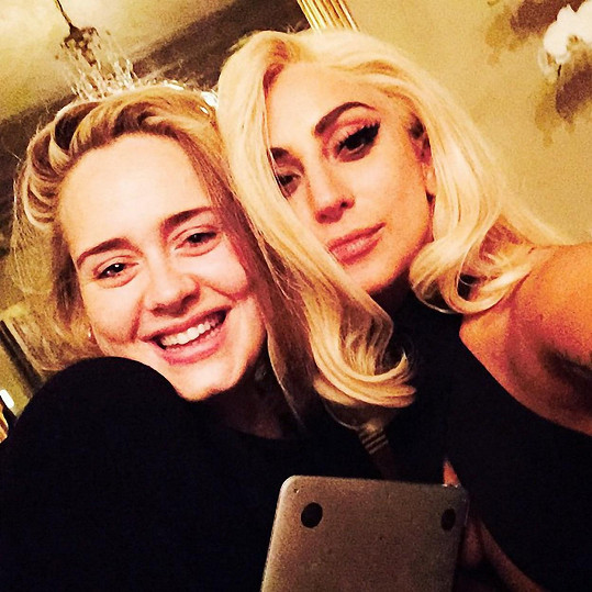 Adele a Lady Gaga