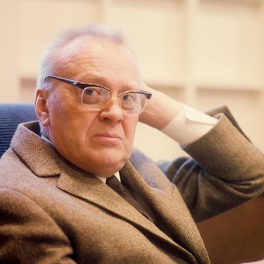 Karel Höger v letech sedmdesátých