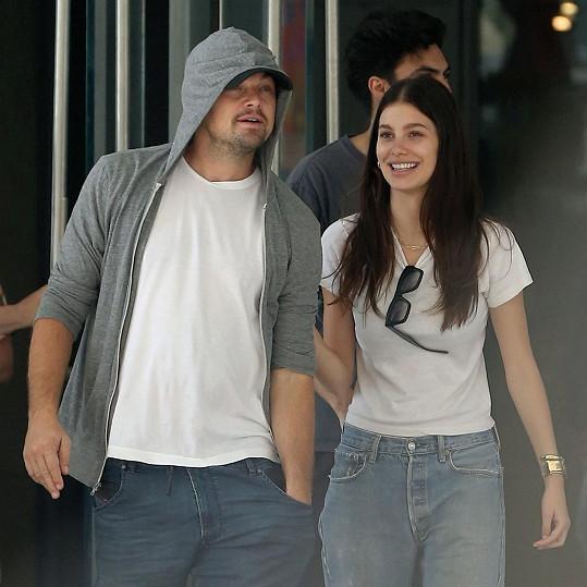 DiCaprio s nynější přítelkyní Camilou Morrone