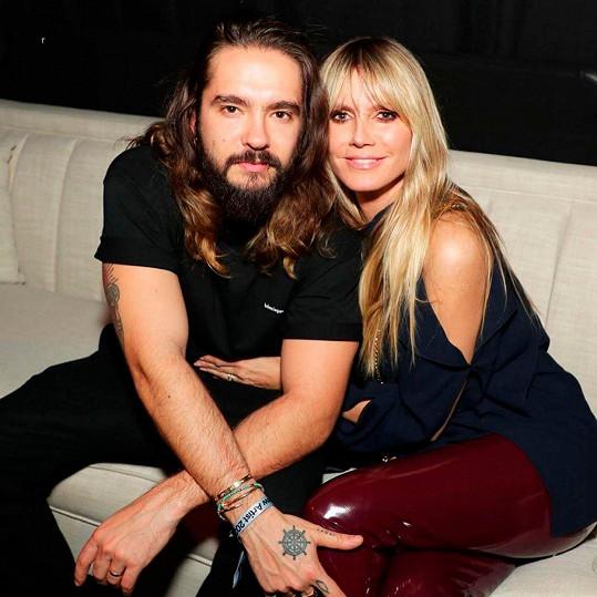 Heidi Klum a Tom Kaulitz jsou izolováni zvlášť.