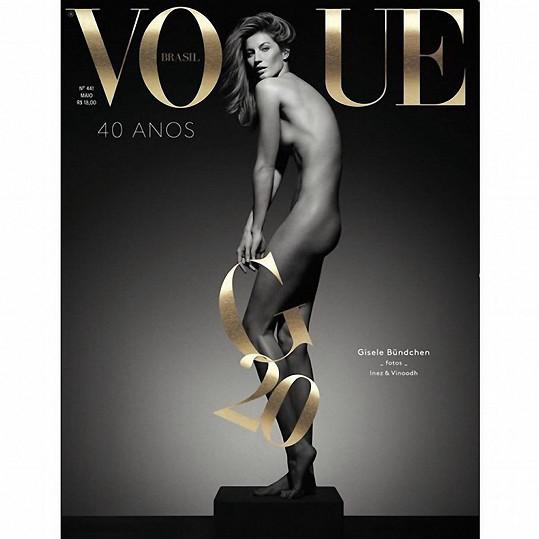 Gisele Bündchen pro brazilský Vogue