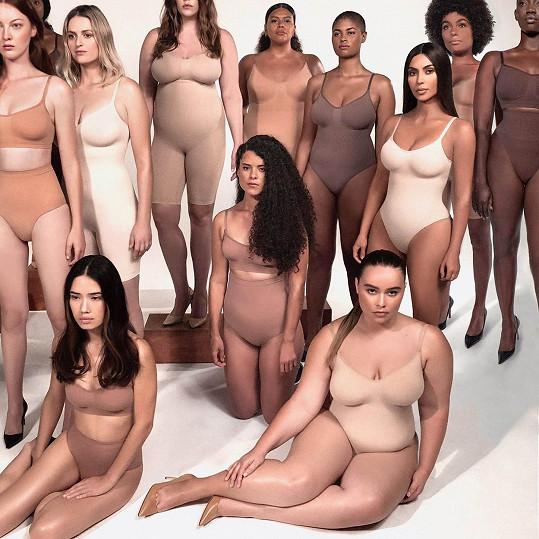 Kousky z její kolekce jsou určeny ženám všech tvarů a velikostí.