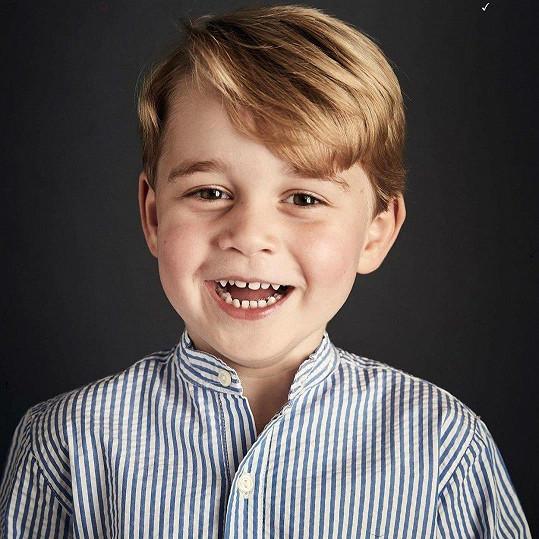 Princ George letos oslavil 4. narozeniny.