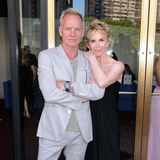 Sting a Trudie Styler - 26 let
