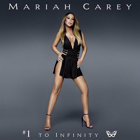 Přebal nové desky Mariah Carey opět vzbuzuje smíšené pocity.