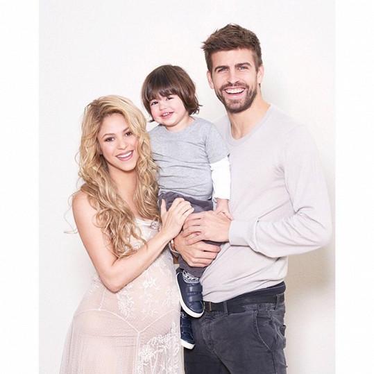V rodině Shakiry, Gerarda a Milana je o chlapečka víc...