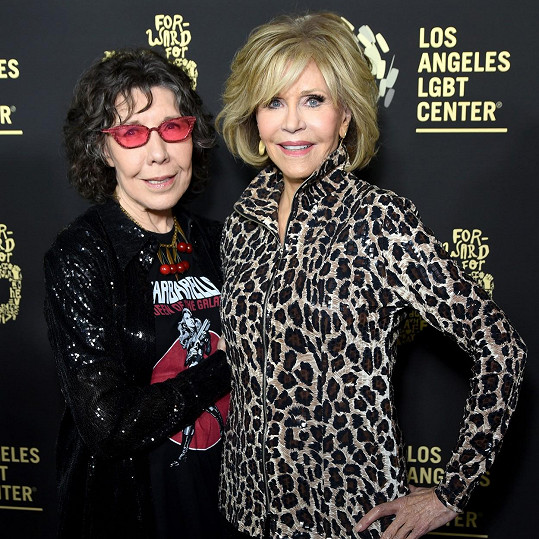 Lily Tomlin a Jane Fonda