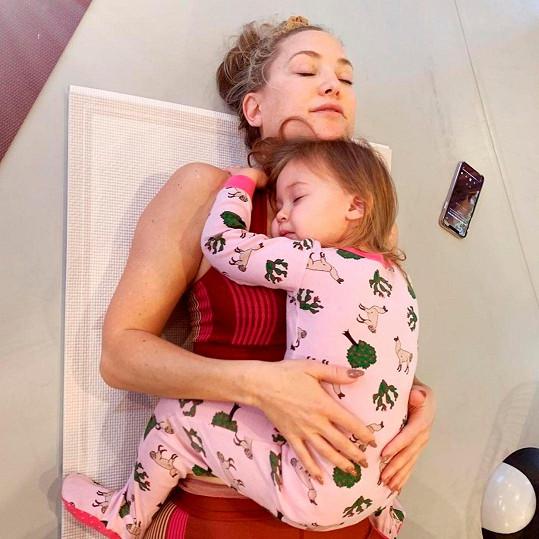 Kate Hudson s dcerkou Rani