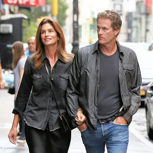 S manželem si vyrazila na procházku po New Yorku.