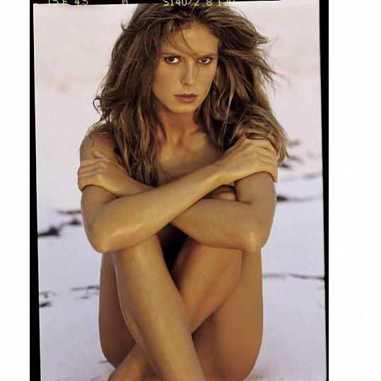 Heidi Klum se neváhala svlékat už od mládí.