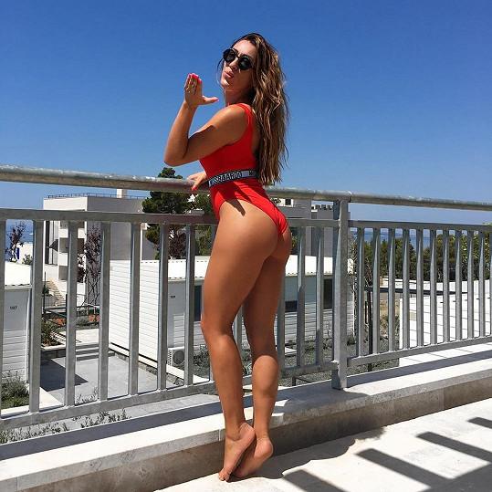 Lucija je první chorvatskou profesionální plus size modelkou