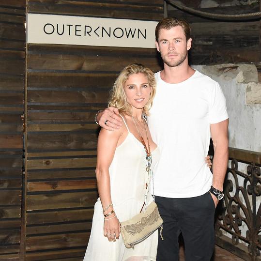 Elsa Pataky s manželem Chrisem Hemsworthem