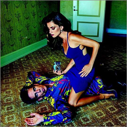 Tuhle parádu nafotila Annie Leibowitz pro magazín Vogue.
