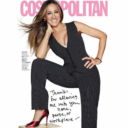 Na obláce Cosmopolitanu vypadá skvěle.