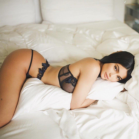 Kylie patří k úspěšným modelkám.