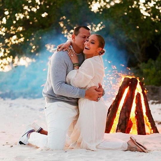 S Alexem Rodriguezem se zpěvačka zasnoubila loni v březnu.