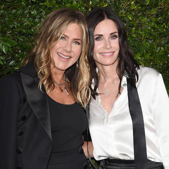Jennifer Aniston a Courteney Cox jsou dlouholeté kamarádky.