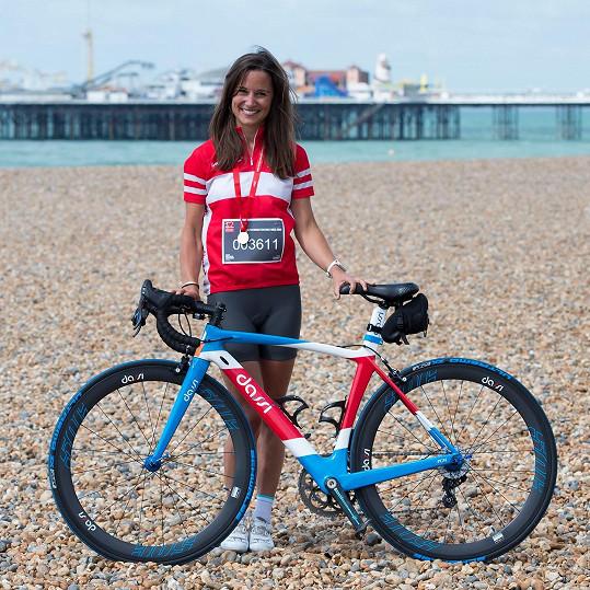 Pippa Middleton se stala tváří charitativního závodu.