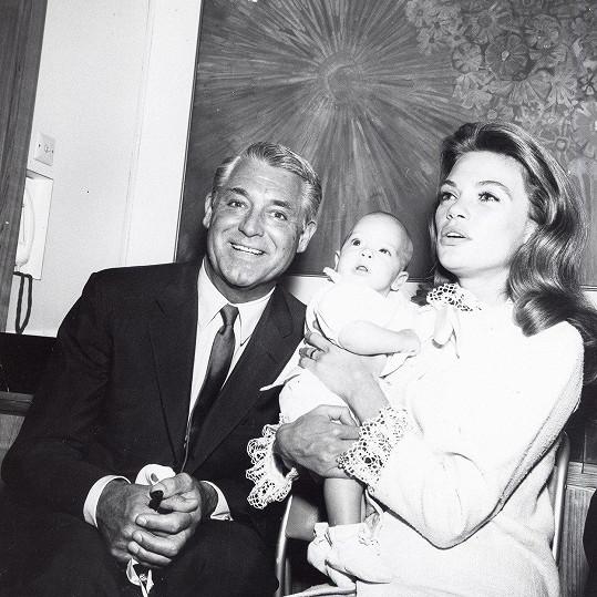 S poslední manželkou Dyan a jedinou dcerkou Jennifer.