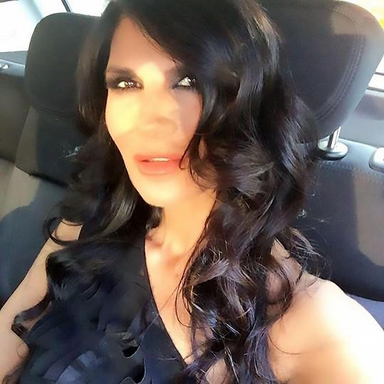 Italská herečka a moderátorka Pamela Prati (58)