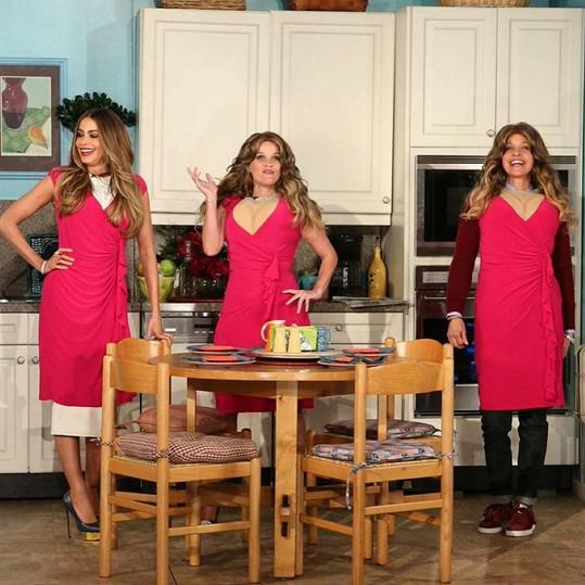 Tři Sofie: Sofia Vergara, Reese Witherspoon a Ellen DeGeneres