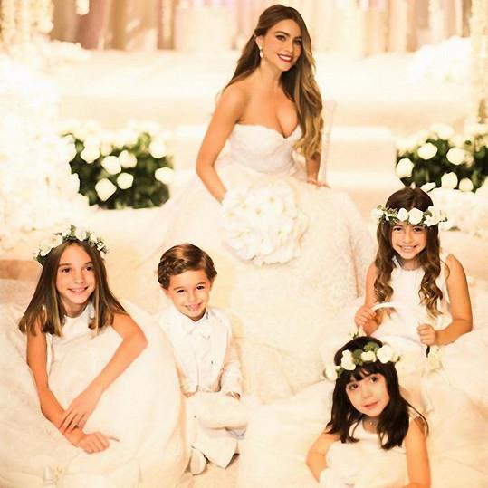Pohádková svatba se bez dětí neobejde...