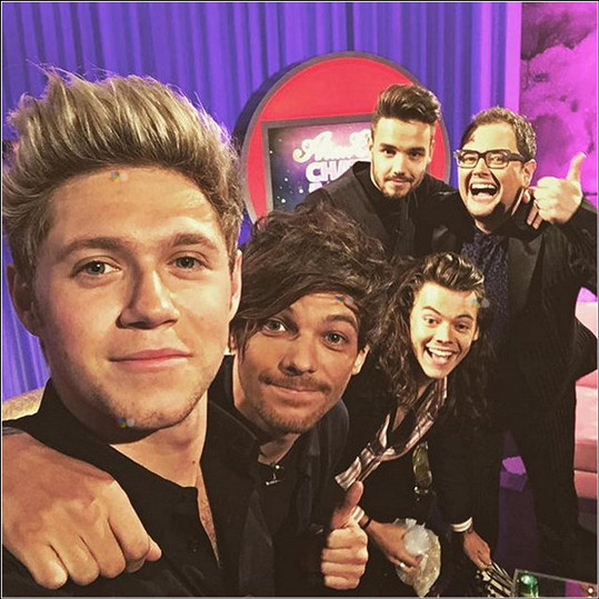 Modelka je přítelkyní Nialla Horana (vlevo) z One Direction.