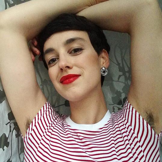 Sonia Cytrowska se před rokem rozhodla přestat se holit.