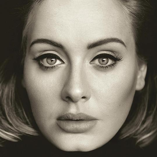 Adele na přebalu svého posledního alba