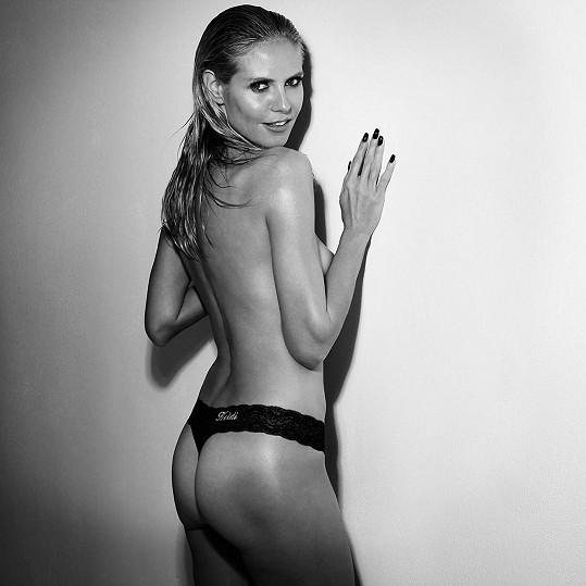 Hýždě Heidi Klum patří jinak spíš mezi drobnější...