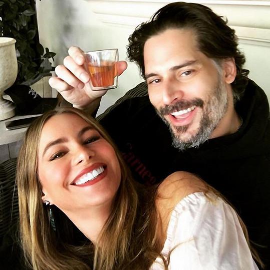 Sofia Vergara s manželem