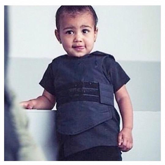 Stala se i jednou z tváří kolekce táty Kanyeho Westa.