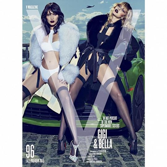 Bella i její o rok starší sestra Gigi jsou úspěšnými modelkami.