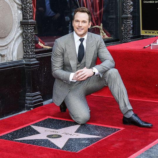 Hollywoodský herec se letos dočkal hvězdy na chodníku slávy.