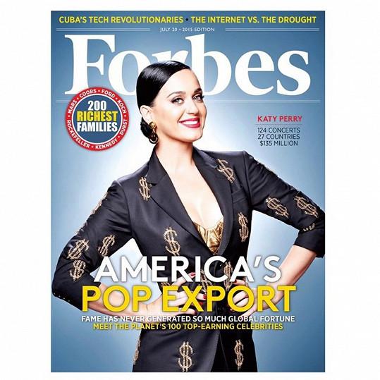 Katy Perry může být spokojená