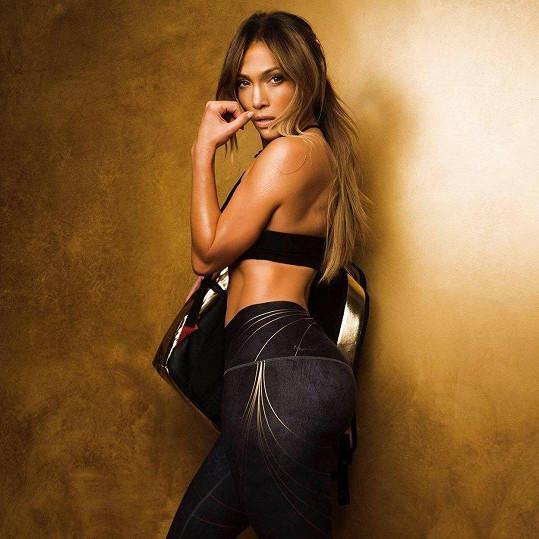 Jennifer Lopez v nové sportovní kampani
