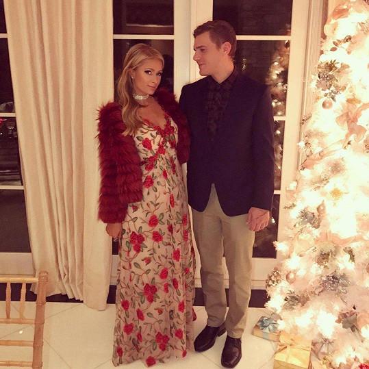 Paris Hilton se snoubencem Chrisem Zylkou