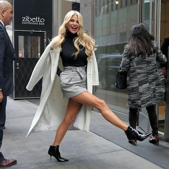 Christie Brinkley se umí radovat ze života.