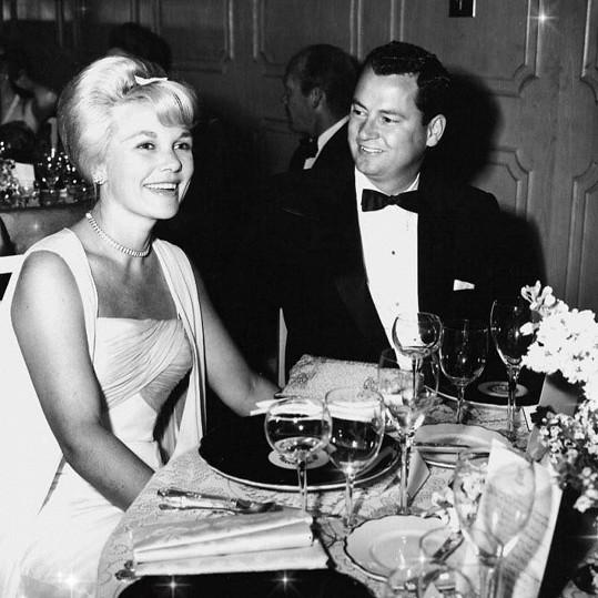Barron s manželkou Marilyn