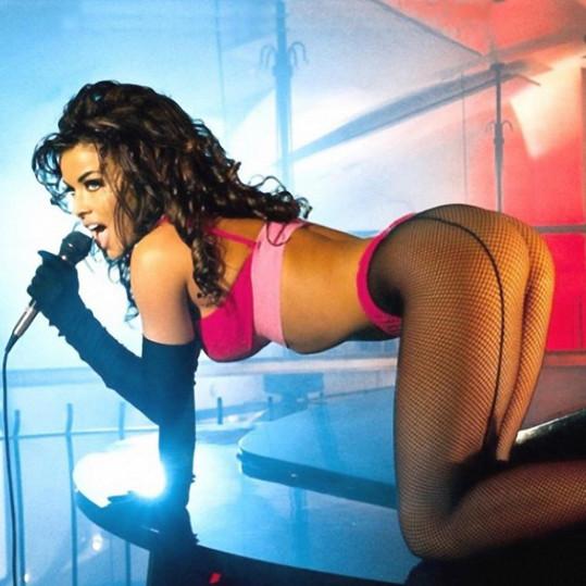 Kdysi Carmen zapózovala i pro Playboy.