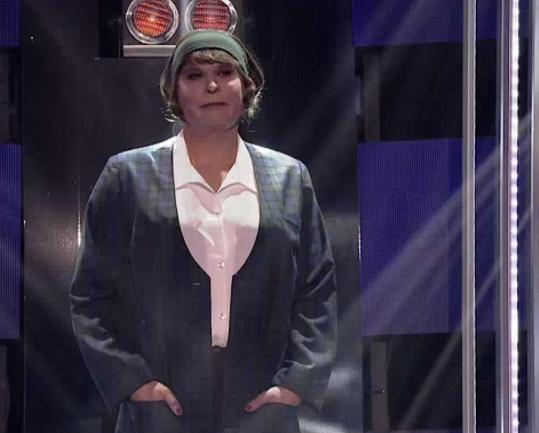 A takhle vypadal coby Hana Hegerová.