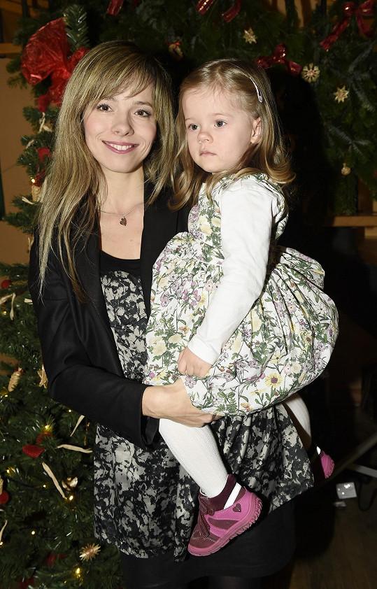 Lucie Černíková s dcerou