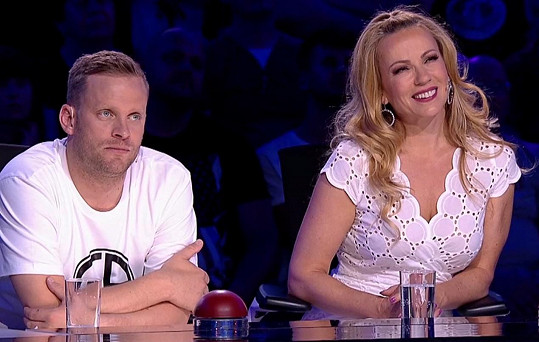 Kuba Prachař a Diana Mórová v porotě Talentu
