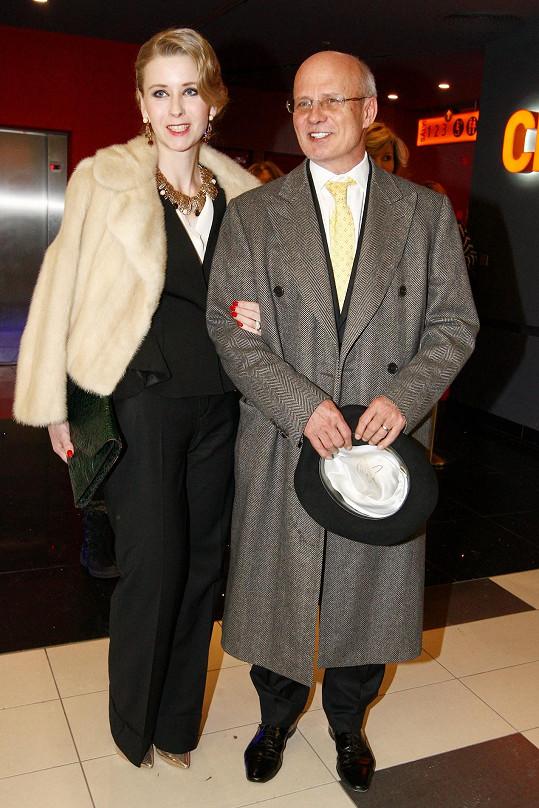 Michal Horáček s manželkou Michaelou