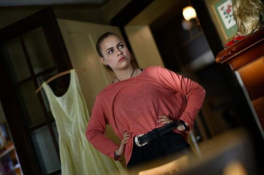 Herečka Veronika Marková si ve svém prvním celovečerním filmu zahrála rovnou jednu z hlavních rolí.