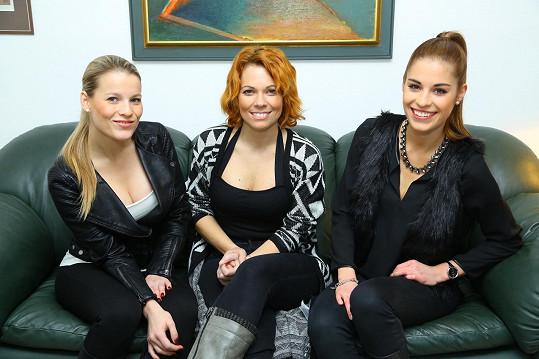 Míša Nosková, Tereza Budková a Míša Gemrotová se potkaly na plastické chirurgii, kde podstoupily plastiku prsou.