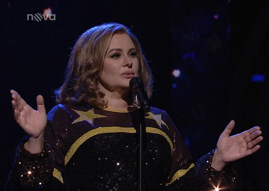 V minulém kole bodovala jako Adele.